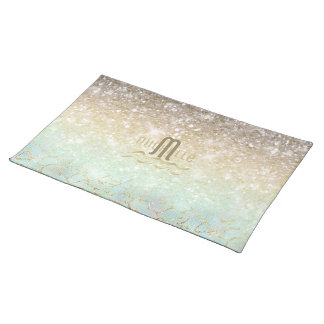 Combo Glitter Gradient Opal Gold ID435 Placemat