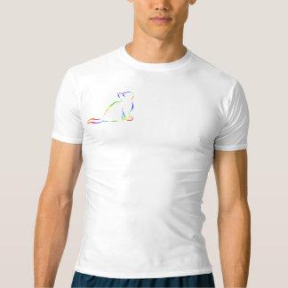 Combo: logo/rainbow silhouette t-shirt
