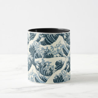 Combo Mug - Hokusai's The Wave