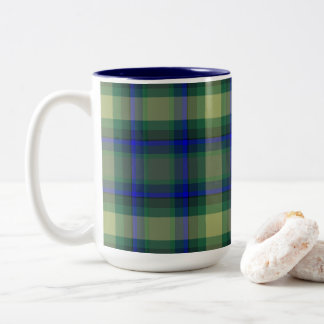 Combo Plaid mug