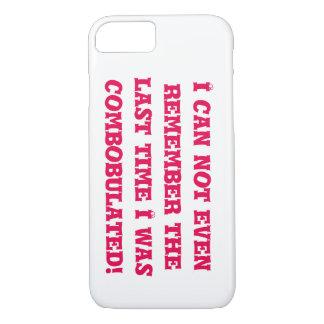 combobulated side ways iPhone 7 case