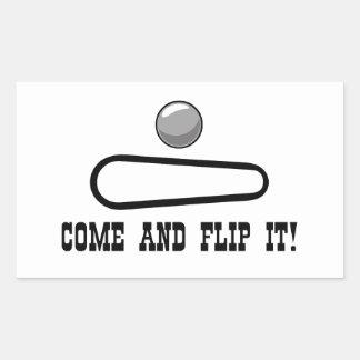 COME AND FLIP IT! Sticker