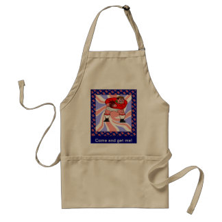 Come and get me standard apron