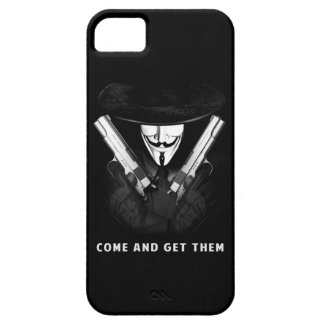 """COME AND GET THEM"" iPhone 5, Barely There Case For The iPhone 5"