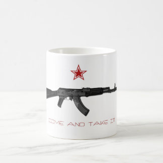 Come and take it coffee mug