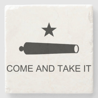 Come and Take It Stone Coaster