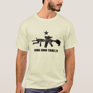 Come and Take It with AR-15 T-Shirt