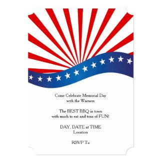 Come Celebrate Memorial Day Party Invitation