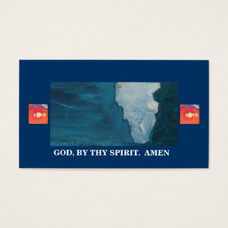 """""""COME FORTH"""" BUSINESS CARD"""