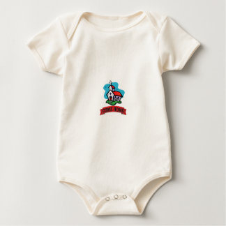 come home to church baby bodysuit