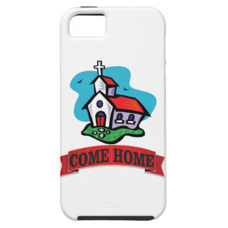 come home to church iPhone 5 cover