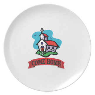 come home to church plate