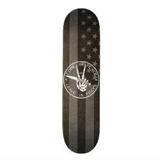 Come in Peace Skateboard Deck