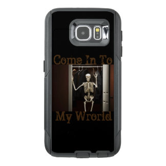 Come In To My World Cell Phone Case