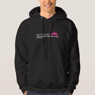 Come into the light SHiNE hooded sweatshirt