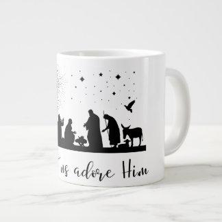 Come Let Us Adore Him Coffee Mug