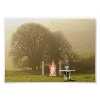 Come Meet The Goddess In The Trees Poster