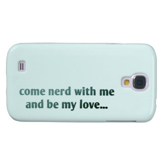 Come nerd with me and be my love...