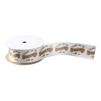 come on an adventure with me satin ribbon