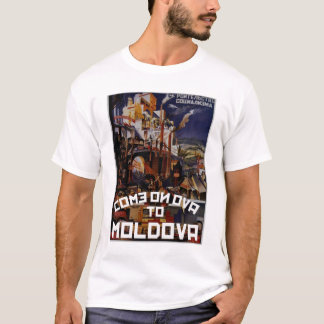 Come on Ova to Moldova T-Shirt