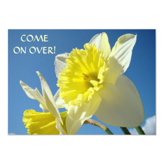 Come on Over! Invitations Cards Easter Holidays