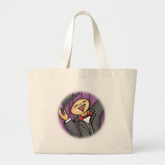 Come Out and Sing! (No words) Large Tote Bag