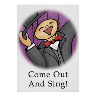 Come Out and Sing! Poster