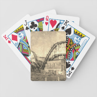 Come out to play bicycle playing cards