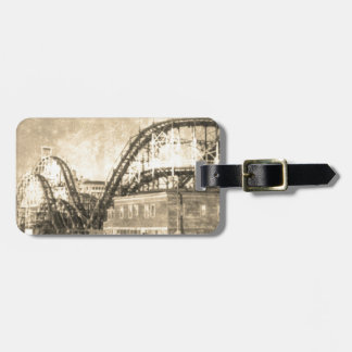 Come out to play luggage tag