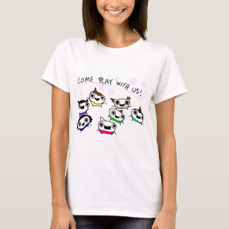 """Come play with us"" T-Shirt"