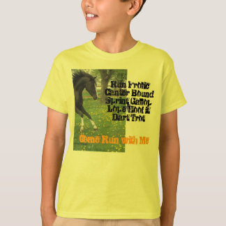 """""""Come Run With Me"""" Kids T T-Shirt"""