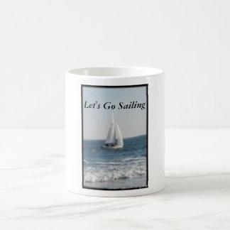 Come Sail Away! Basic White Mug