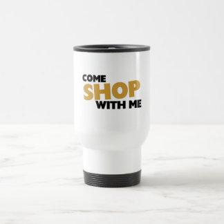 Come shop with me travel mug