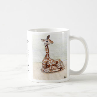 """""""Come Sit With Me' Giraffe Cup"""