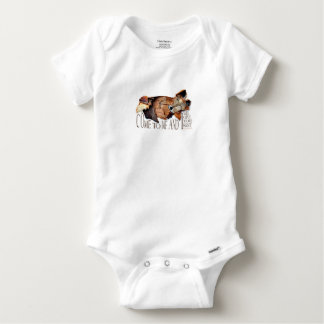 Come to Me and I Will Give You Rest, Matthew, Fox Baby Onesie