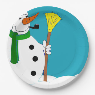 Come To Our House Christmas Party Paper Plates