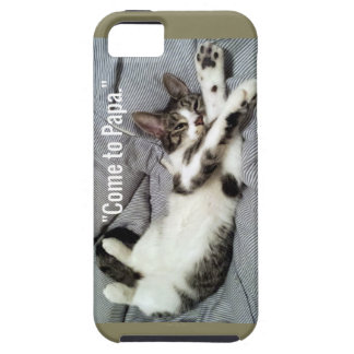 """Come To Papa"" Cat iPhone 5 Covers"