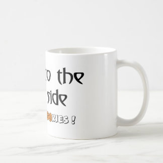 Come To The Dark Side - We Have Cookies! Basic White Mug