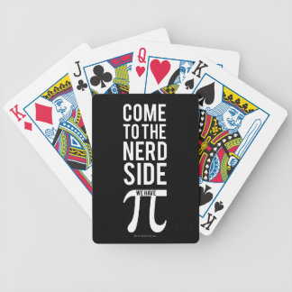 Come To The Nerd Side Bicycle Playing Cards