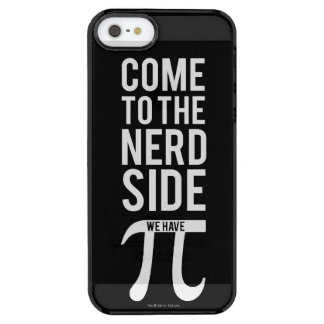 Come To The Nerd Side Clear iPhone SE/5/5s Case
