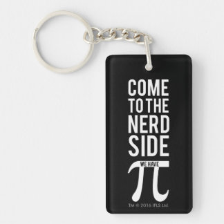 Come To The Nerd Side Keychain