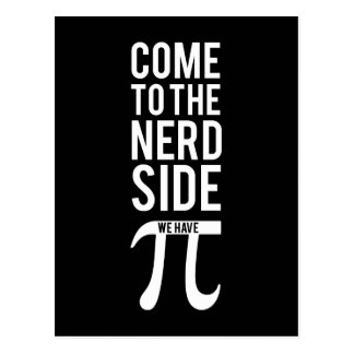Come To The Nerd Side Postcard