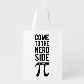 Come To The Nerd Side Reusable Grocery Bag
