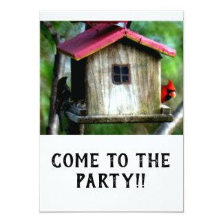 Come to the party invitation