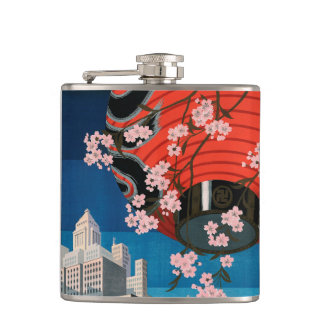Come to Tokyo Hip Flask