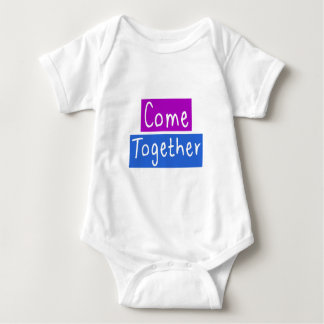 Come Together Baby Bodysuit