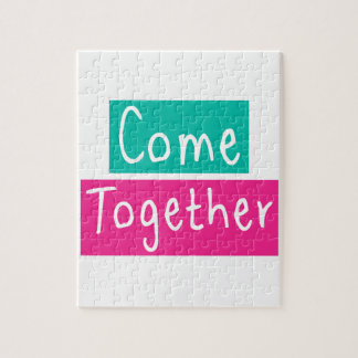 Come Together Jigsaw Puzzle