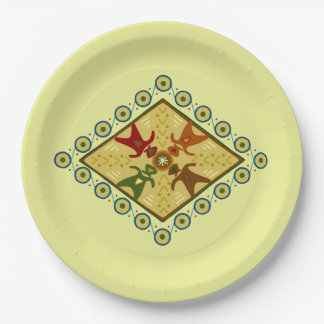 Come Together Kwanzaa Party Paper Plates