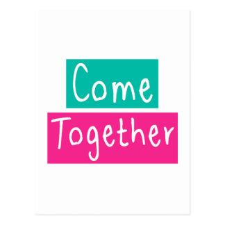 Come Together Postcard