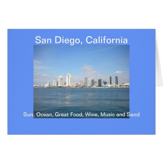 Come Visit San Diego, California  Card